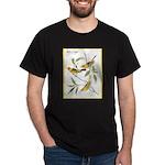 Audubon Western Tanager Birds (Front) Dark T-Shirt