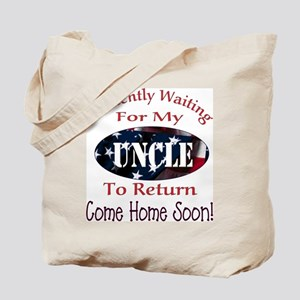 Patiently waiting for my Uncl Tote Bag