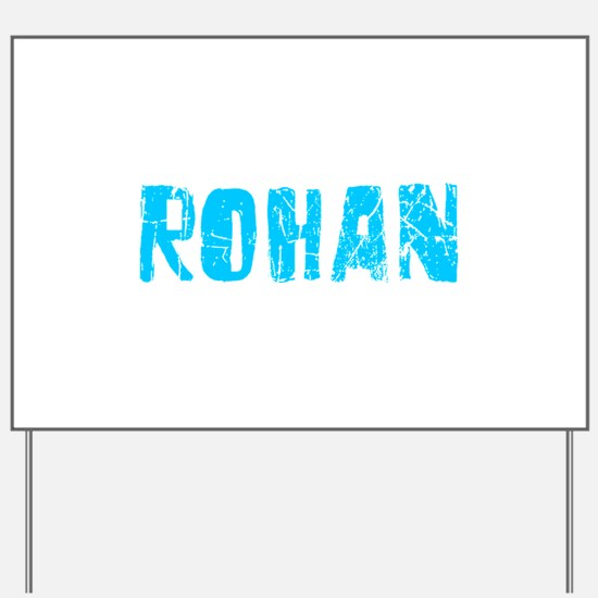 Rohan Faded (Blue) Yard Sign