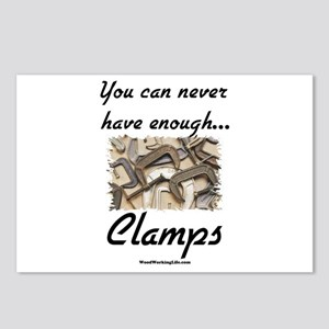 Clamps Design #2 Postcards (Package of 8)