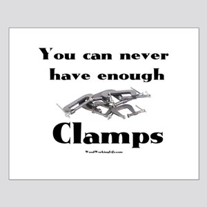 Clamps Design #4 Small Poster