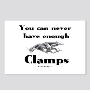 Clamps Design #4 Postcards (Package of 8)