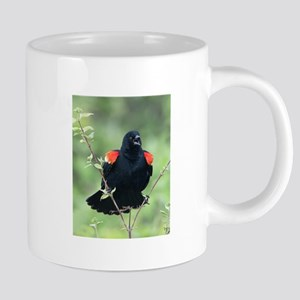 Red-Winged Blackbird Mugs