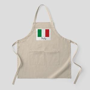 Italy Flag BBQ Apron
