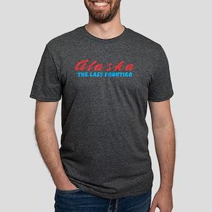 Alaska - Last frontier Mens Tri-blend T-Shirt