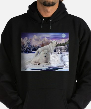 Snow Wolves of the Wild Sweatshirt