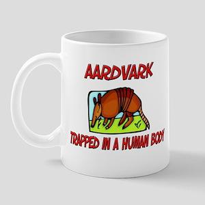 Aardvark trapped in a human body Mug