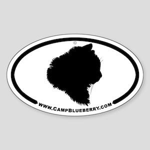 Abbey 2008-Apr Oval Sticker
