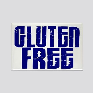 Gluten Free 1.10 (Indigo) Rectangle Magnet
