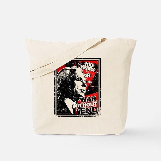 Distressed McCain Tote Bag