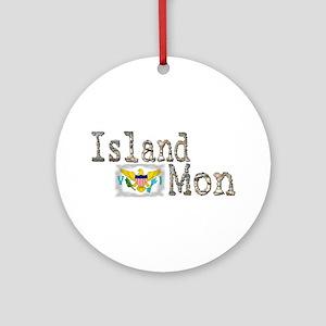 Island Mon - Ornament (Round)