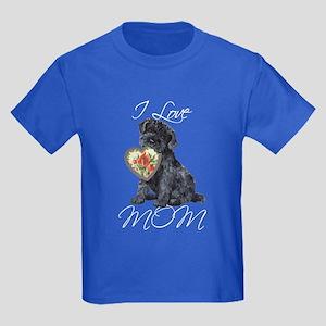 Kerry Blue Mom Kids Dark T-Shirt