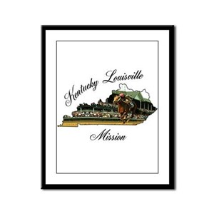 Kentucky Louisville Mission Framed Panel Print