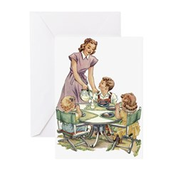1940's Mother Greeting Cards (Pk of 10)