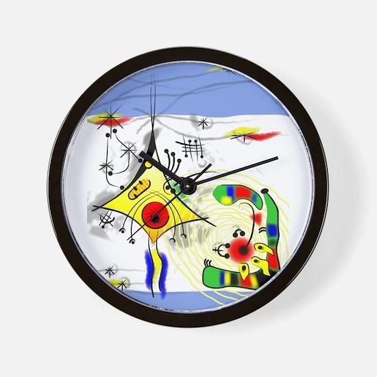 Unique Axon Wall Clock