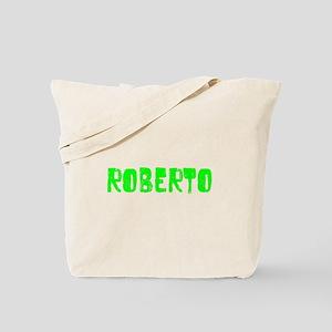 Roberto Faded (Green) Tote Bag