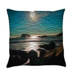 Ocean Coast Mystical Passage Everyday Pillow