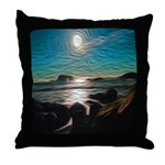 Ocean Coast Mystical Passage Throw Pillow