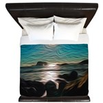Ocean Coast Mystical Passage King Duvet