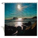 Ocean Coast Mystical Passage Shower Curtain