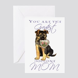 GSD Mother's Day Greeting Card