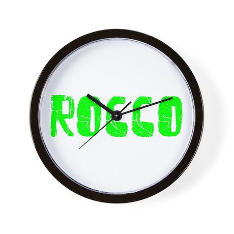 Rocco Faded (Green) Wall Clock