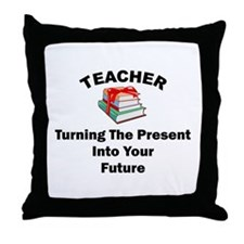 Teachers Present Throw Pillow