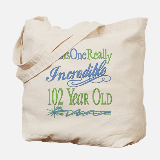 Incredible 102nd Tote Bag