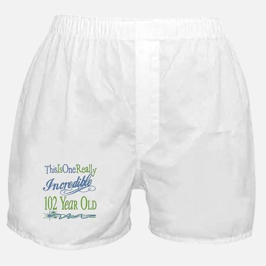 Incredible 102nd Boxer Shorts