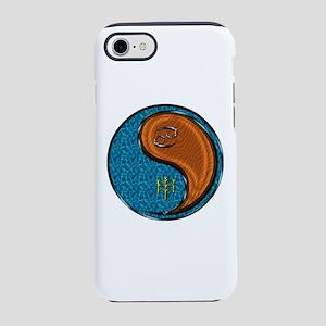 Cancer & Wood Monkey iPhone 8/7 Tough Case