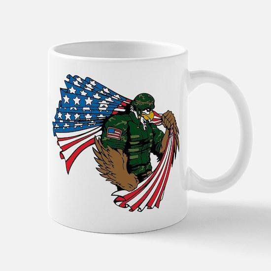 Eagle Soldier Mugs
