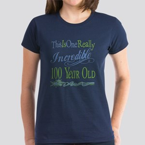 Incredible 100th Women's Dark T-Shirt