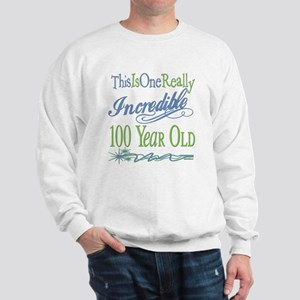 Incredible 100th Sweatshirt