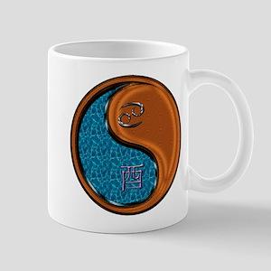Cancer & Wood Rooster 11 oz Ceramic Mug