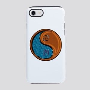 Cancer & Wood Rooster iPhone 8/7 Tough Case