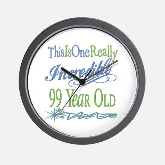 Incredible 99th Wall Clock