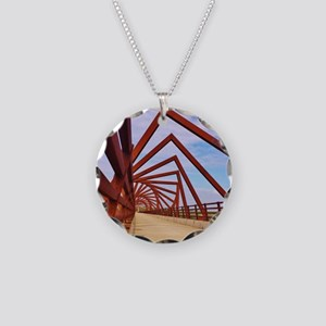 High Trestle Trail Necklace Circle Charm
