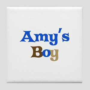 Amy's Boy Tile Coaster