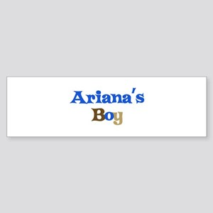 Ariana's Boy Bumper Sticker