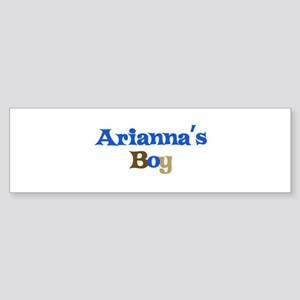 Arianna's Boy Bumper Sticker
