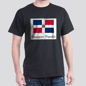 Dominican Republic Flag Dark T-Shirt