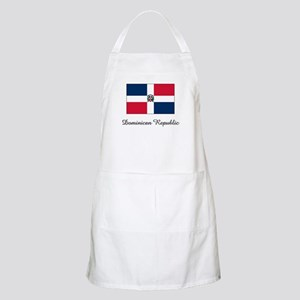 Dominican Republic Flag BBQ Apron