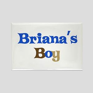 Briana's Boy Rectangle Magnet