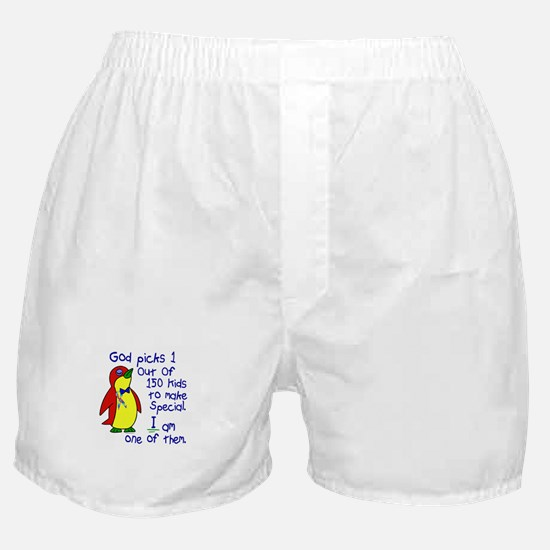 God Made Me Special 1.3 (Autism) Boxer Shorts
