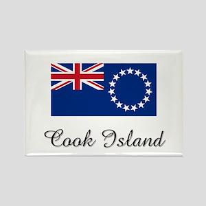 Cook Island Flag Rectangle Magnet