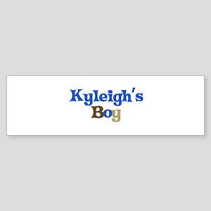 Kyleigh's Boy Bumper Sticker