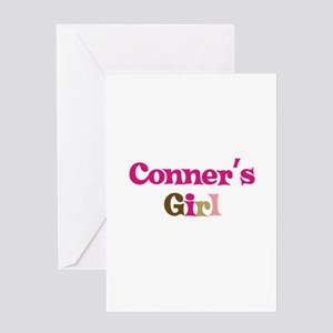 Conner's Girl Greeting Card
