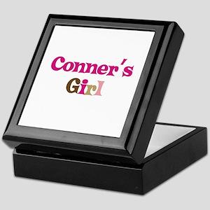 Conner's Girl Keepsake Box