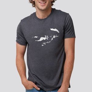 British Virgin Islands Silhouette T-Shirt