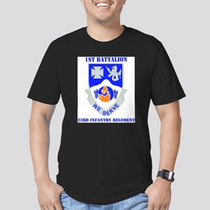 DUI - 1st Bn - 23rd Infantry Regt with Tex T-Shirt